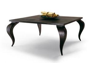 2120 Duong, Massiver Mahagonitisch aus Holz