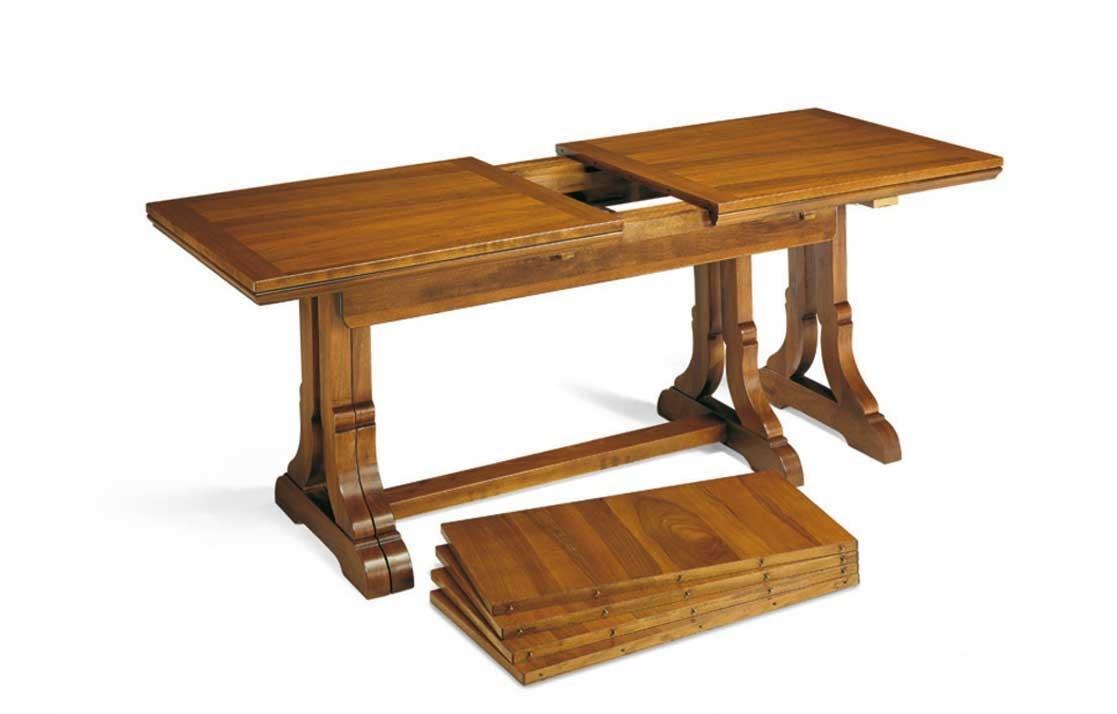 Art. 49, Ausziehbarer Tisch aus Holz im traditionellen Stil