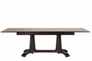 Heritage Tisch, Ausziehbarer Esstisch aus Holz