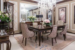 New York Tisch, Holztisch für elegante Esszimmer