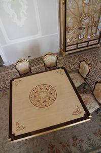 Nobile Tisch, Esstisch mit eingelegter Platte