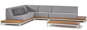 CALIFORNIA SET, Gartenset mit modularem Sofa
