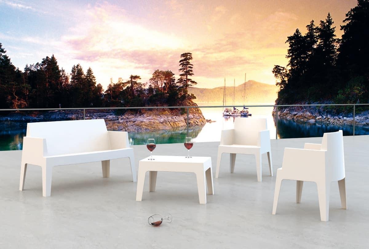 Formentera Set, Gartenmöbel-Set, für Außenbereich