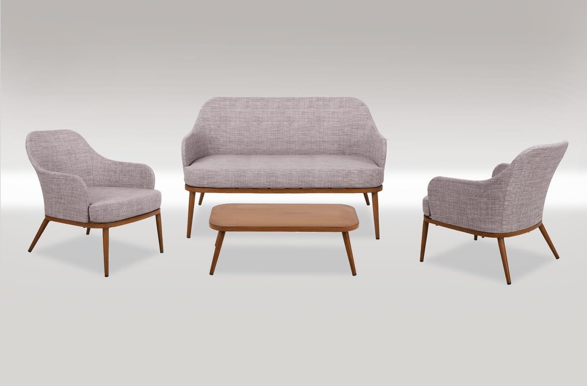 FORTE DEI MARMI SET, Gartenset mit Sofa und Sessel