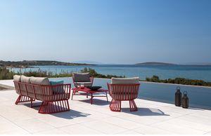 SET BORA BORA, Outdoor-Set mit Sofas und Tisch