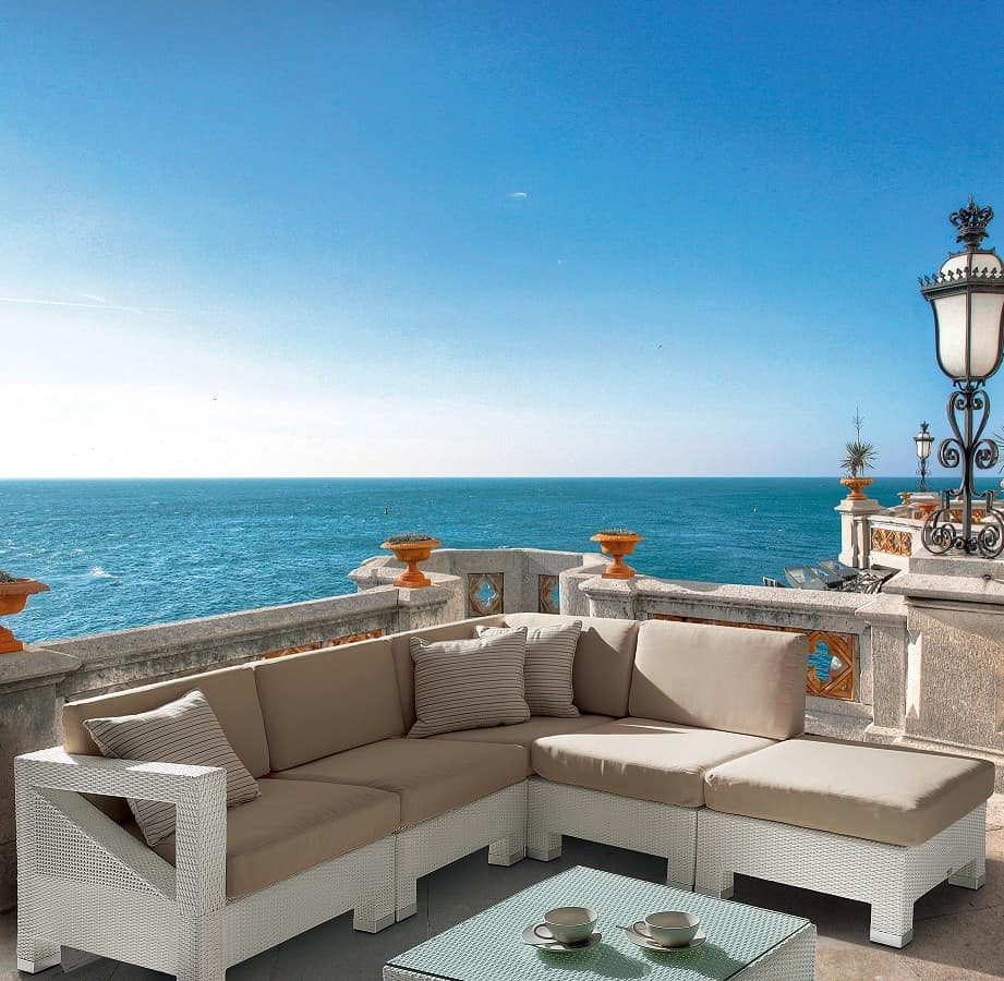 teorema lounge m bel set f r den au enbereich behandelt. Black Bedroom Furniture Sets. Home Design Ideas
