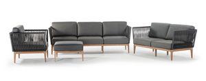 Yucatan, Outdoor-Set mit Sofa und Sessel