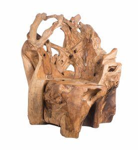 Radice 0366, Stuhl in der natürlichen Wurzel
