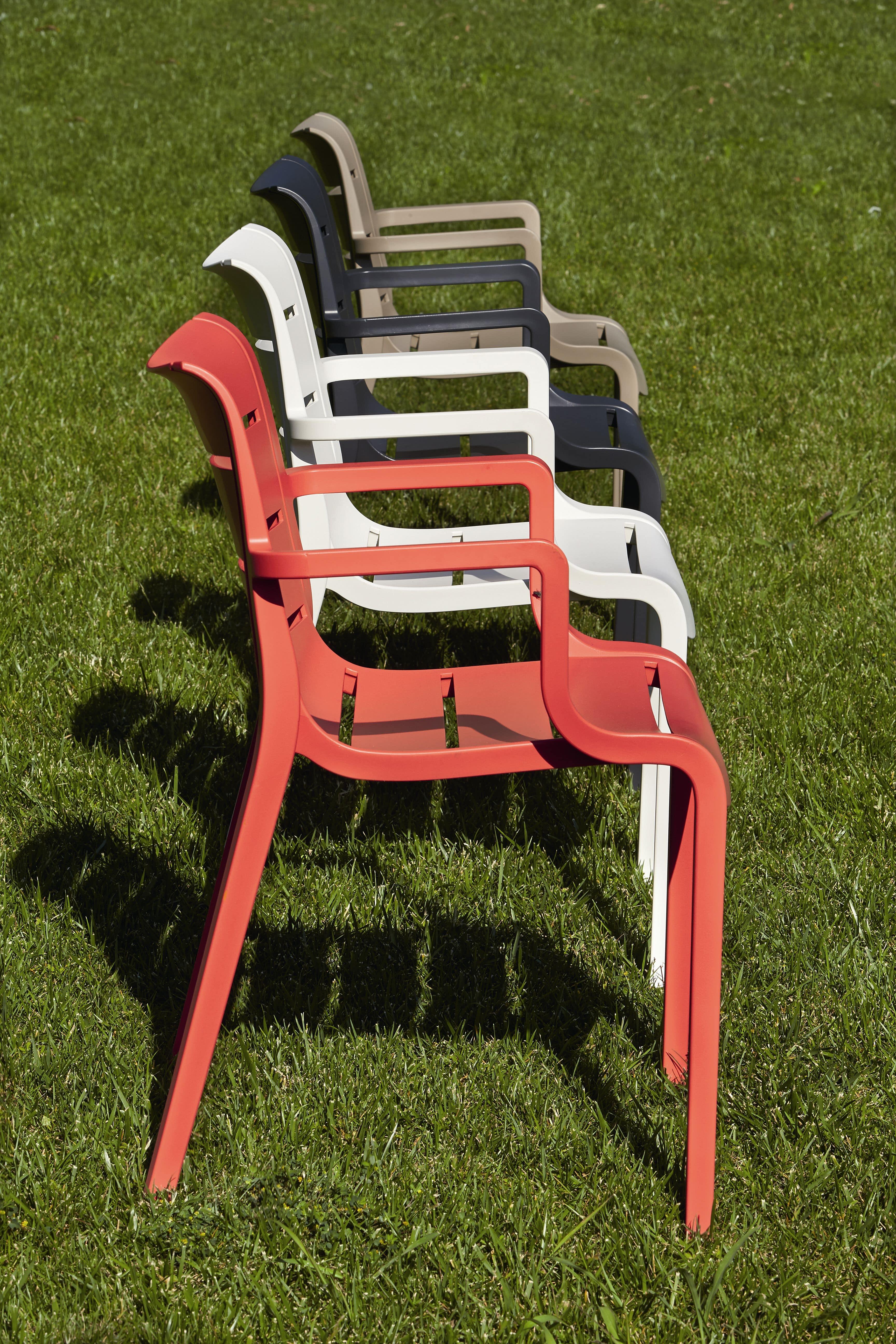 Sunset, Kunststoff-Stuhl, für Gärten und Bars