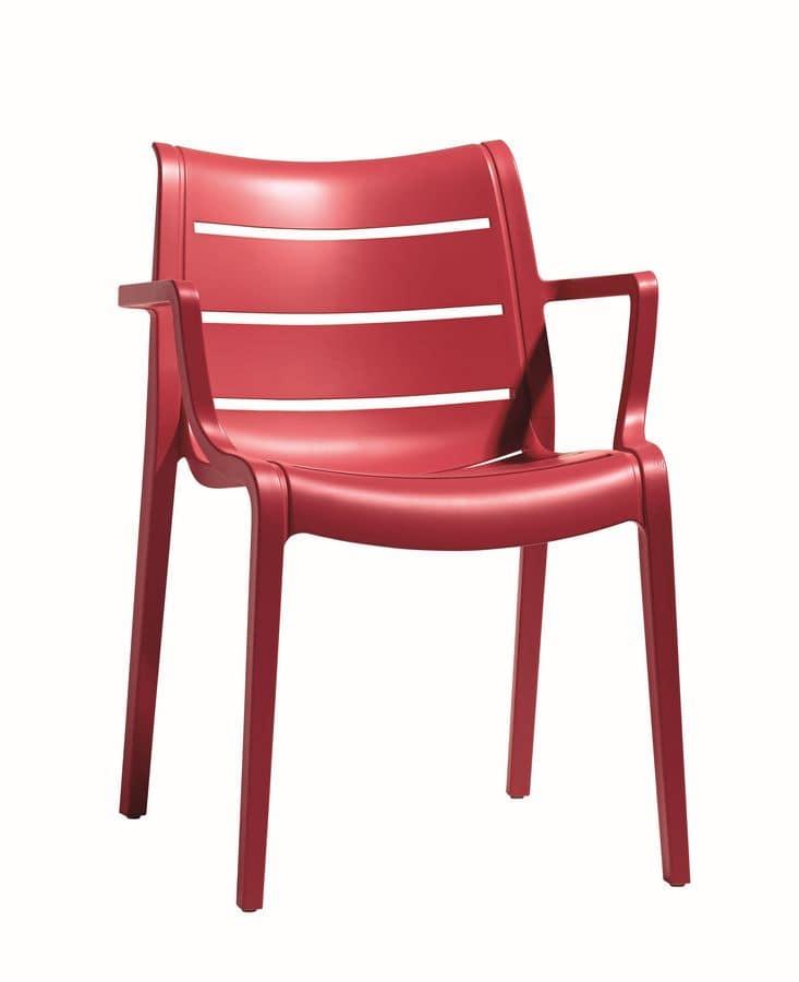 kunststoff stuhl f r g rten und bars idfdesign. Black Bedroom Furniture Sets. Home Design Ideas