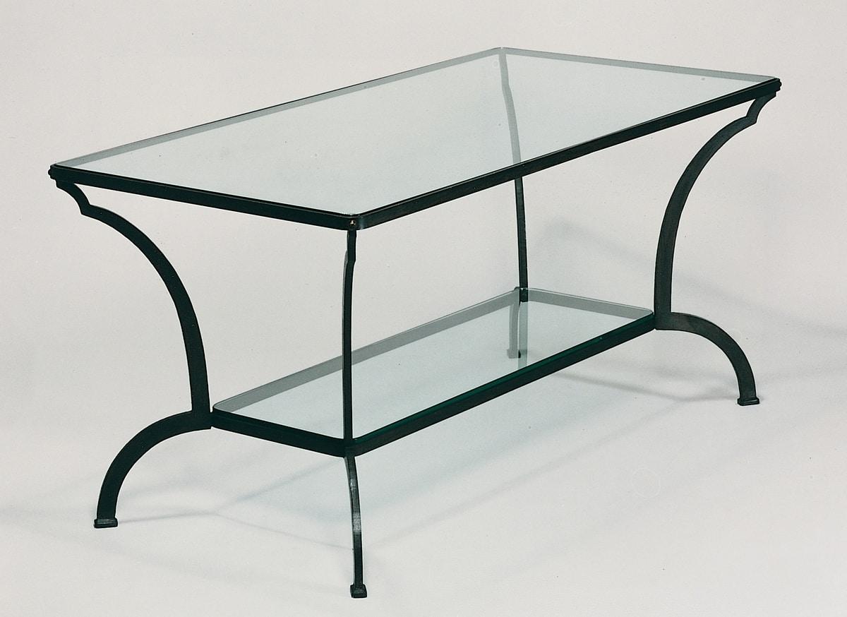 Gartentisch Aus Eisen Und Glas Idfdesign