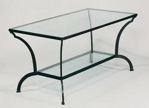 ARCHI GF4013TA, Gartentisch aus Eisen und Glas