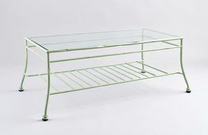 BAMBOO GF4012TA-B, Gartentisch im grünen Eisen