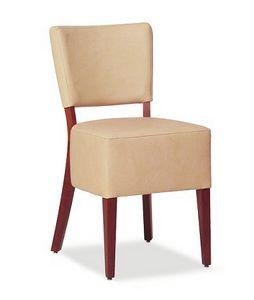 325, Stuhl mit großem gepolsterten Sitz