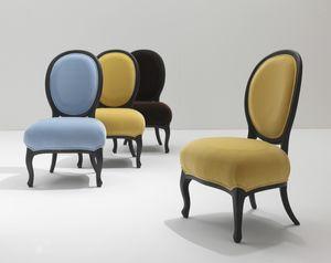 5305/G Rubens, Stuhl mit ovaler Rückenlehne