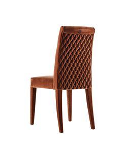 702401 Zarafa, Stuhl komplett mit Stoff bezogen