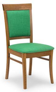 Anna UPH, Gepolsterter Stuhl aus Holz