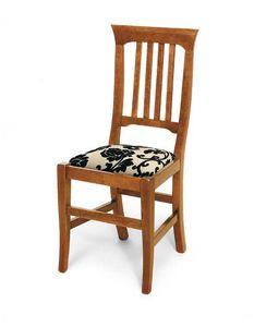 Art. 134, Esszimmerstuhl mit gepolsterter Sitzfläche