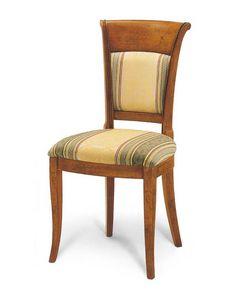 Art. 154, Gepolsterter Stuhl für Esszimmer im klassischen Stil