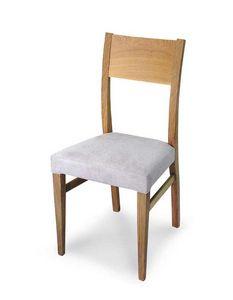 Art. 179/M, Moderner Stuhl mit gepolstertem Sitz