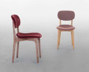 BIKINI WOOD, Gepolsterter Stuhl aus Holz