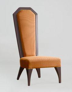 BS384S - Stuhl, Imperial Stuhl mit hoher Rückenlehne