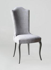 BS428S - Stuhl, Stuhl mit hohem Rücken gepolstert