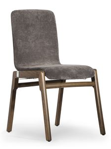 Cornelia, Stuhl mit gepolsterter Schale
