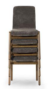 Cornelia stackable, Stapelbarer Stuhl, für den Objektbereich