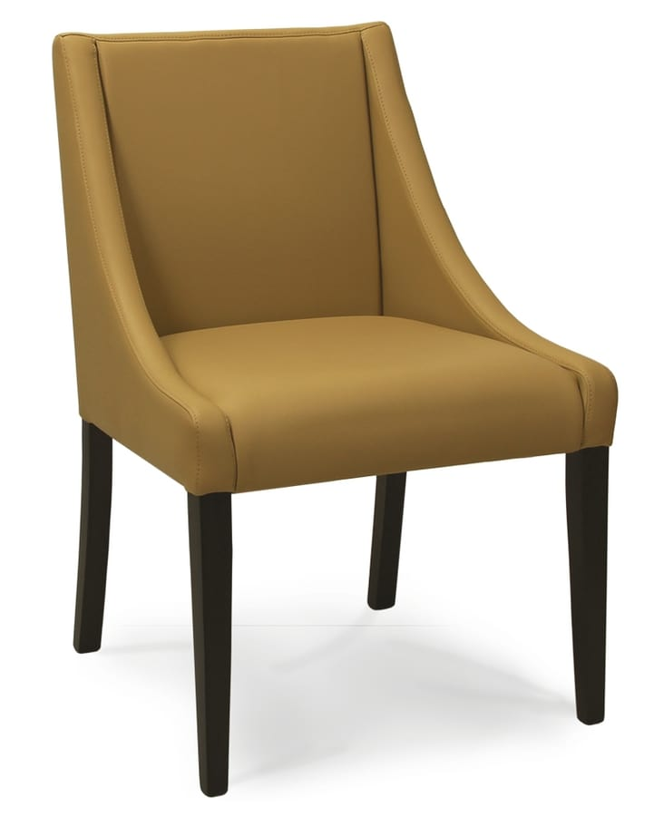 CORSICA S, Gepolsterter Stuhl mit niedrigen Armlehnen