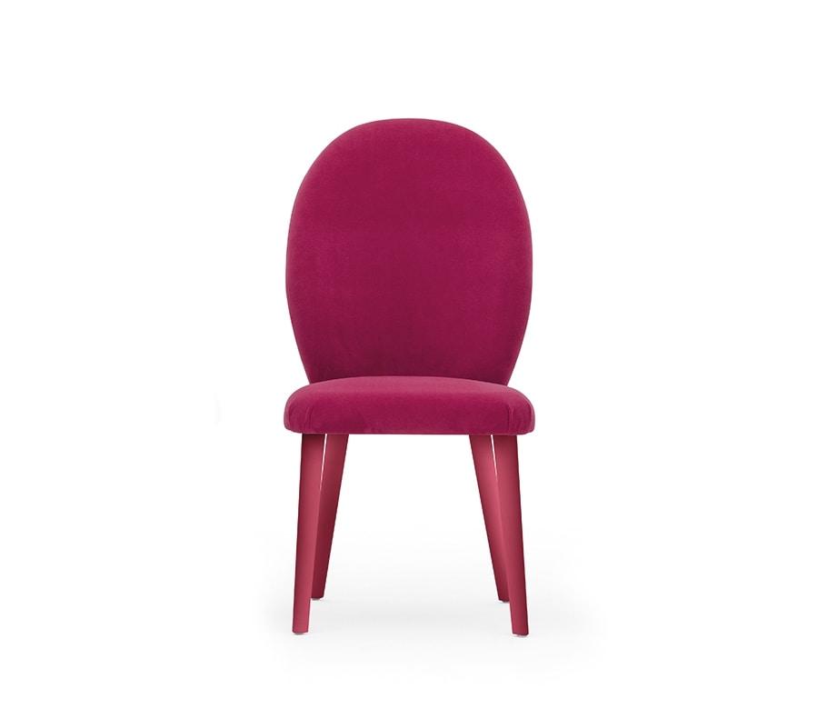 Diva 04611, Stuhl mit einem sauberen und eleganten Design
