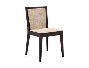 Fan 210, Stuhl mit gepolstertem Sitz und Rücken