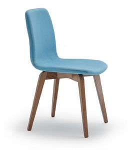 Frida, Gepolsterter Stuhl für Küche