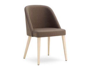 Ginger-S, Stuhl mit einer perfekten Mischung aus Eleganz, Design und Qualität
