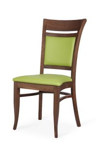 Gloria I stapelbar, Stapelbarer Stuhl, mit einem klassischen Design
