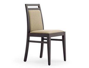 Guenda-S1, Bankettstühle, in Holz, gepolstert