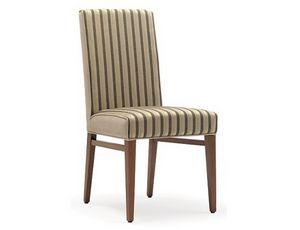 Milena-S, Bequemer gepolsterter Stuhl für Restaurant