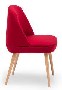 Noemi, Gepolsterter Stuhl für Wartebereiche