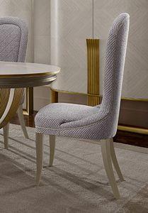 Oliver Art. OL10, Einfacher und raffinierter Esszimmerstuhl