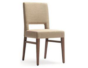Selene-S, Gepolsterter Stuhl für die Gastronomie