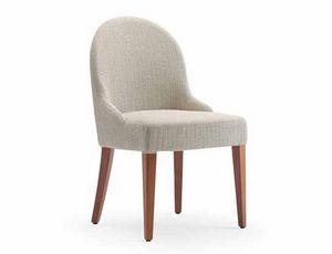 Tina-S, Stuhl für Hotels und Restaurants, gepolstert