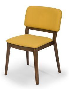 Tosca, Gepolsterter Stuhl für den Objektbereich