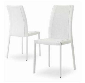 Giselle-IN, Bequemer gepolsterter Stuhl mit hoher Rückenlehne