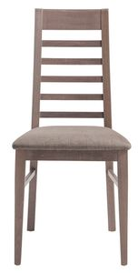 SE 490/E, Stuhl mit Rückenlehne mit horizontalen Lamellen