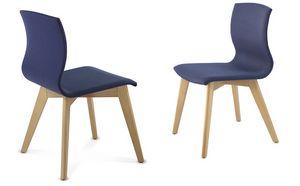 WEBWOOD 357Z, Stuhl aus Holz bedeckt