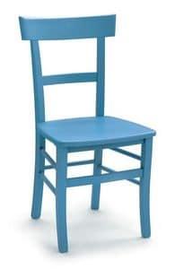 1063, Einfachen Stuhl aus Buchenholz für Zuhause und Bars