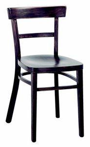 3042 A4, Restaurantstuhl aus Holz