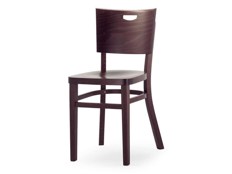 A3, Stuhl ganz aus Holz