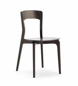 ISOTTA Holz, Chair in Eschenholz, Furnierholzsitz