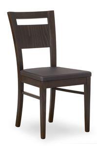Lory, Stuhl mit bequem gepolsterter Sitzfläche
